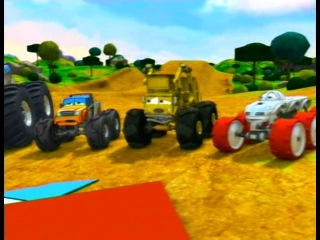 "�/� ""������ � ������ �����. ��� �������?"" / ""Bigfoot Presents: Meteor and the Mighty Monster Trucks"" (2006 �.) 6+"