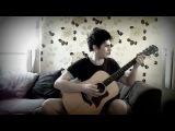 Парень классно играет на гитаре саундтрек из сериала